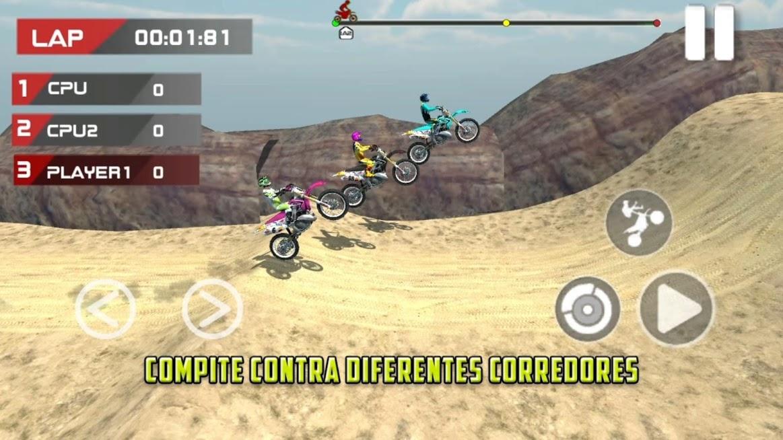 Juego de motos MX 2018