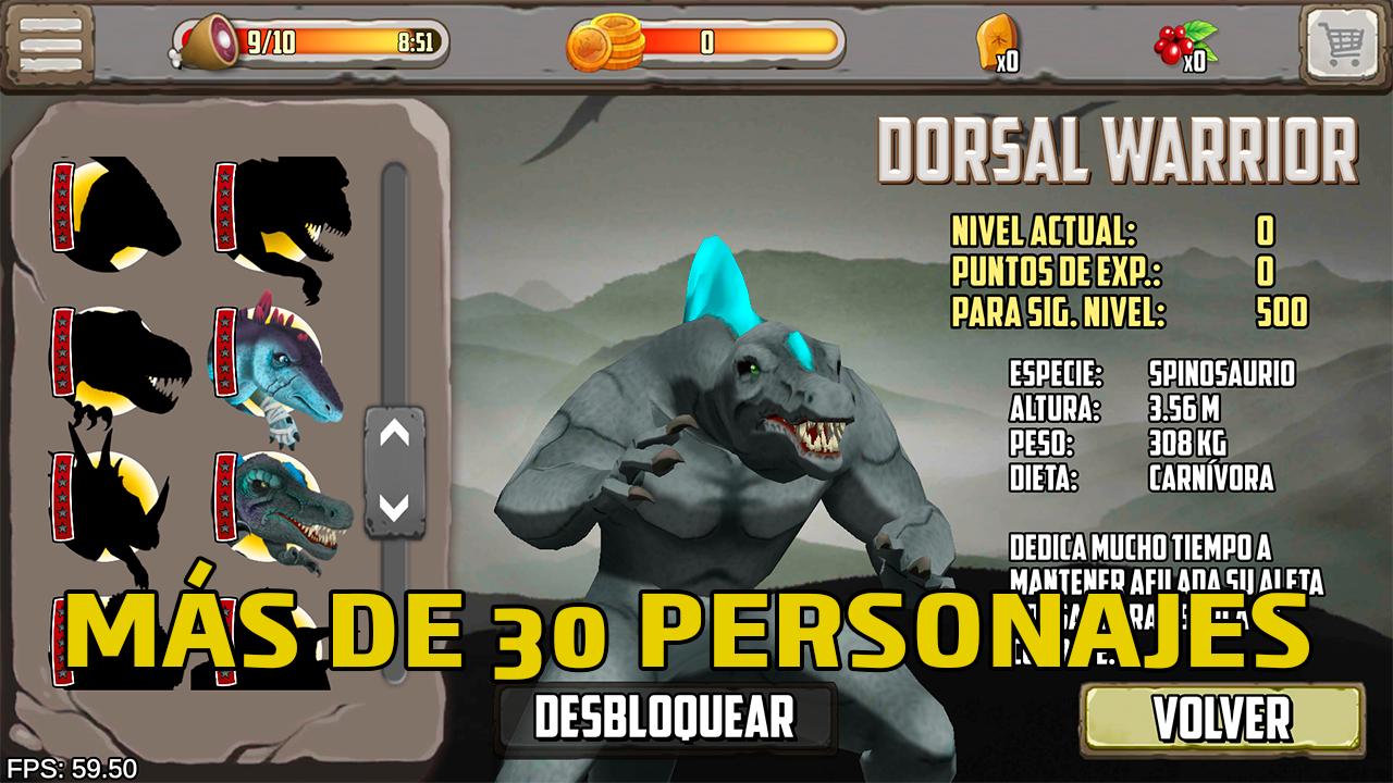 Peleas de dinosaurios – Juego de lucha gratis