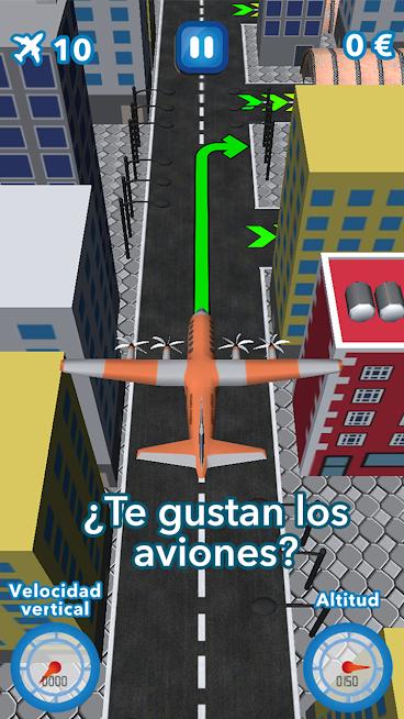 Aterrizaje de emergencia – Juego de aviones gratis
