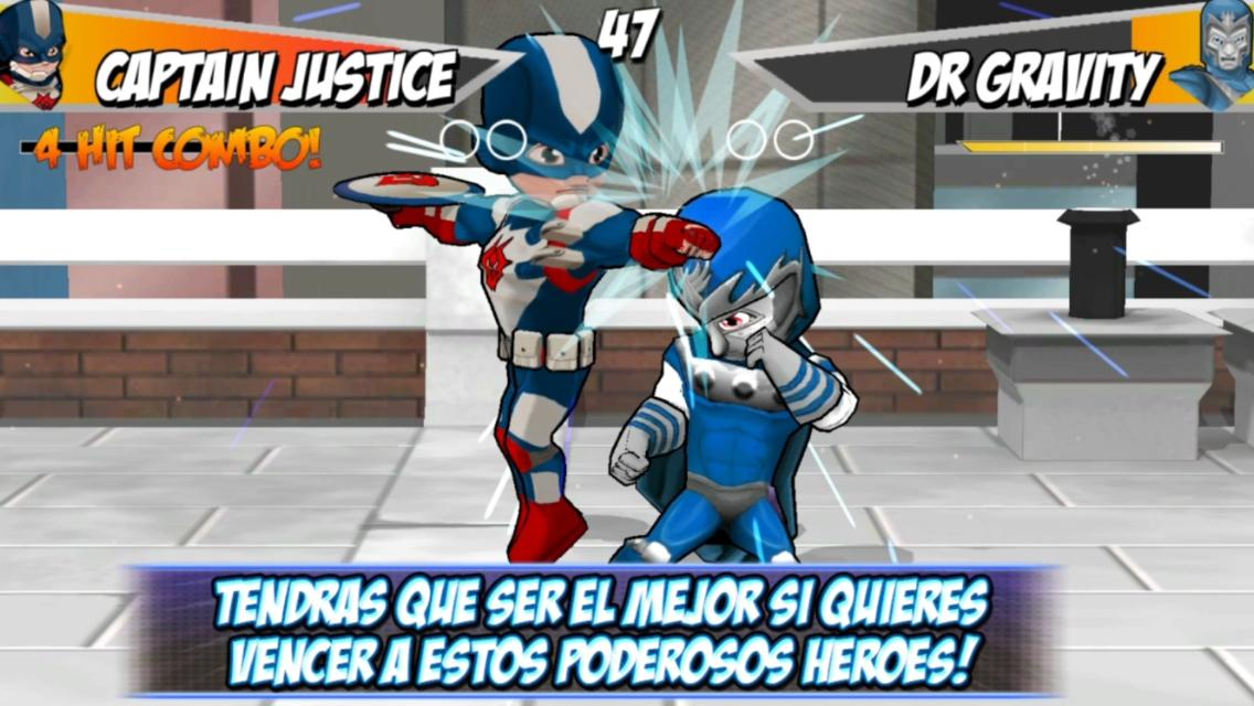 Juego de Lucha Super Heroes 2