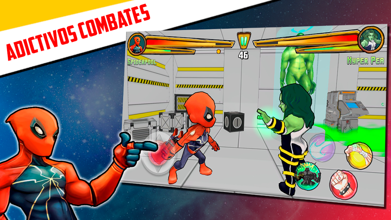 Juego de lucha gratis – La liga de superhéroes